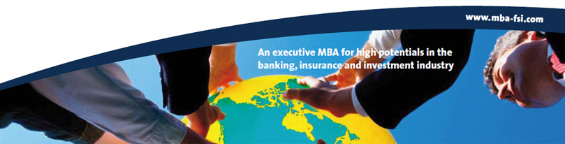 Request the brochure - MBA in Financial Services and Insurance
